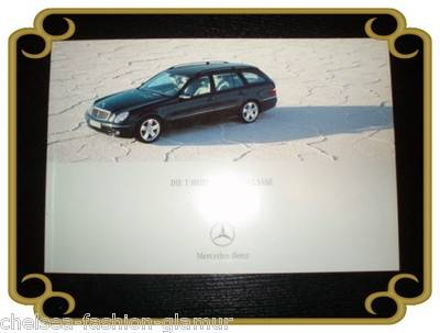 Mercedes Benz Die T -Modelle der E-Klasse 06/2003