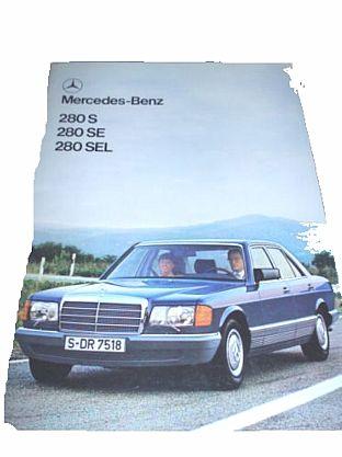 Mercedes Benz 280S 280SE 280SEL (36)
