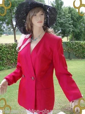 Blacky Dress Blazer glänzend Pink Gr 40 (8376)