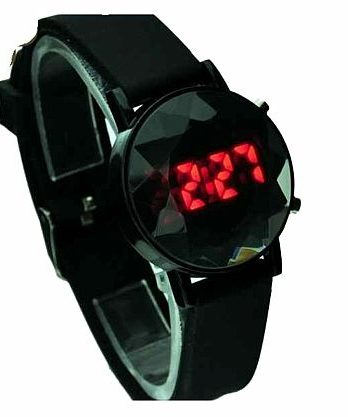 Fashion Black Digitale LED Light Day Date Sport Armbanduhr NEU (1043[20])