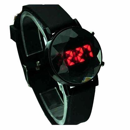 Fashion Black Digitale LED Light Day Date Sport Armbanduhr NEU (1043[20])