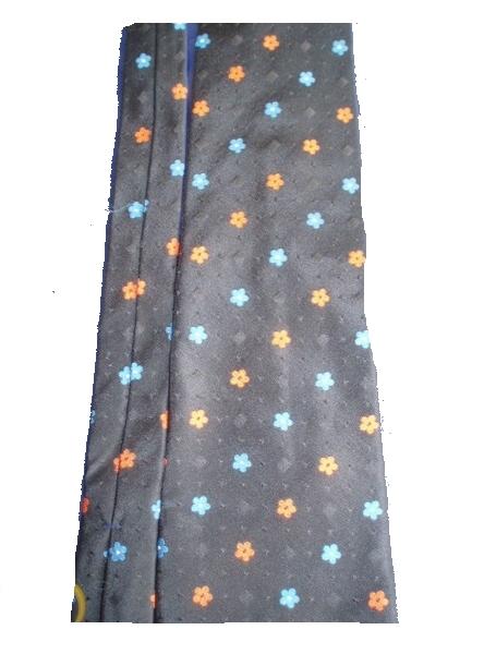 Hemley, Krawatte, Binder, Tie, 100% Seide ,schwarz, bunt
