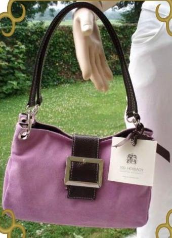 Iris Horbach Handtasche Coll echt Leder Flieder NEU (5744)