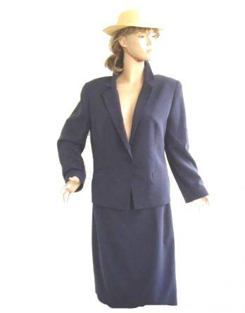 Jean-Claire-Kostüm-blau-Gr-40-42-5006