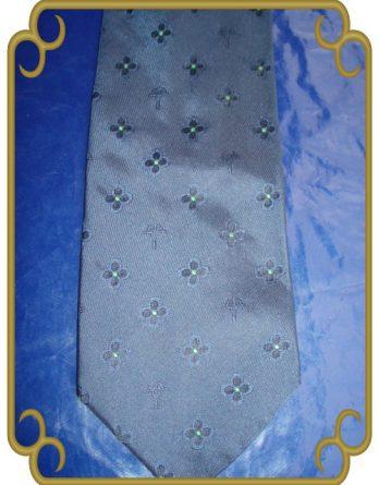Joop Krawatte Binder Tie 100% Seide blau (2)