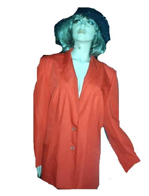 Lady Astor Blazer rot orange Farbton Gr 44 - 46 (9240)
