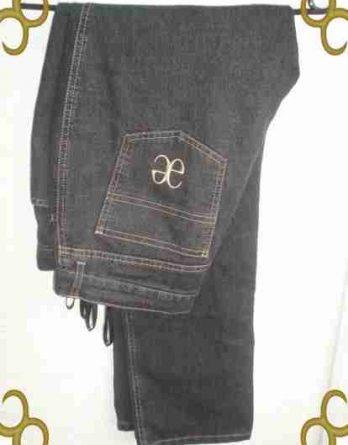 AE, Elegance, Paris, Jeans, schwarz, Gr 40, NEU (3388)