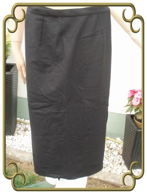 Dolce & Gabbana Kostüm Rock schwarz Gr 38 (3467)