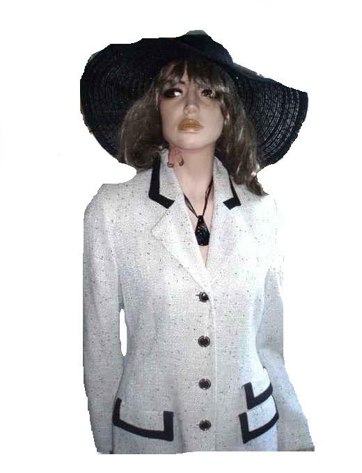 restige Elegance schwarz weiß Gr 38 - 40 (1304)