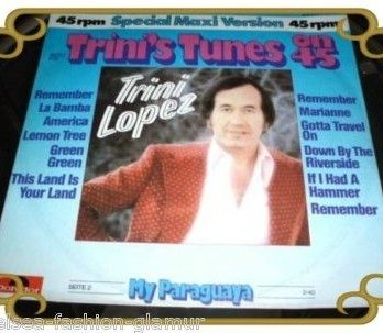Trini Lopez Tunes on 45 Single Maxi (2742)