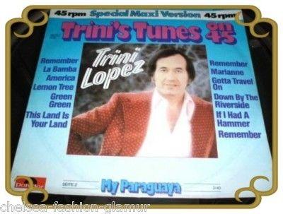 Trini Lopez Tunes on 45 Single Maxi (2742)