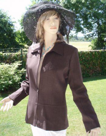 Wallis, Kostüm, Blazer, braun, Gr. 36 (8256)