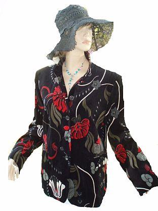 Taake Baden Ba Blazer elegance bunt Gr. 42 (5528)